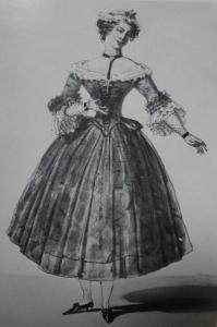 Pauline Montessu dans Manon, 1830