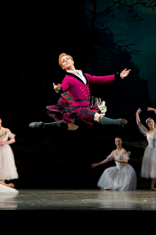 Steven McRae in La Sylphide - Photo Bill Cooper, courtesy of ROH