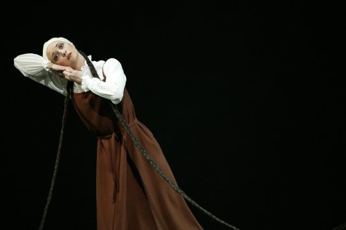 Christina Arestis #2 as the Bride in Les Noces photo by Johan Persson