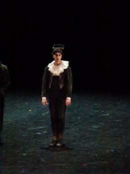 Stéphane Phavorin, aussi précis en pantomime qu'une lame de rasoir.