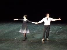 Isabelle Ciaravola et Nicolas Le Riche