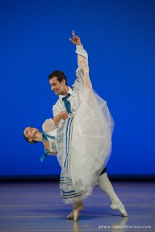 Maria Gutierrez et Davit Galstyan - photo David Herrero