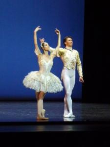 Maria Yakovleva et Robert Gabdullin. Pas de deux de l'acte III de la Belle au Bois dormant