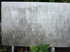 Celle de Léontine Beaugrand, étoile de l'Opéra