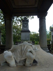 Tombeau d'Alexandre Dumas Fils et tombe du ténor Adolphe Nourrit