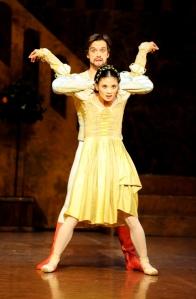 Sue Jin Kang , Filip Barankiewicz - Der Widerspenstigen Zähmung (Cranko)  ©Stuttgart Ballet