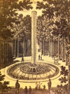 Parc de Versailles. Bosquet de la Girandole