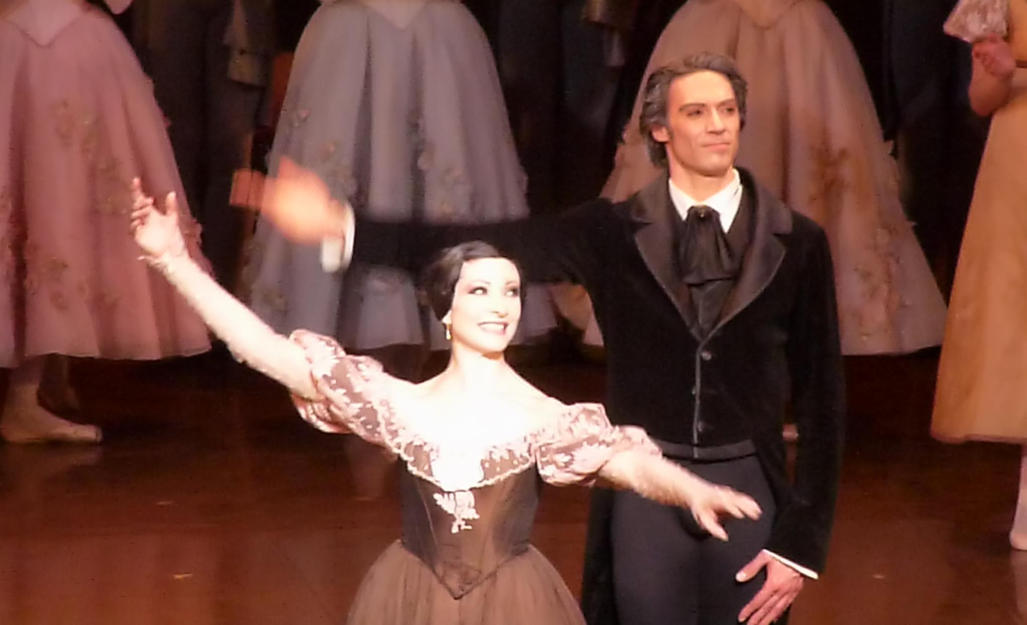 Isabelle Ciaravola and Hervé Moreau. [Farewell performance, February