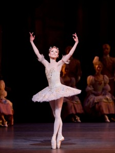Sarah Lamb in THE SLEEPING BEAUTY 2011, Credit: Johan Persson / courtsesy of ROH