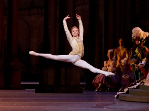 Steven McRae in THE SLEEPING BEAUTY, The Royal Opera House, London, UK, 2011, Credit: Johan Persson / Courtesy of ROH