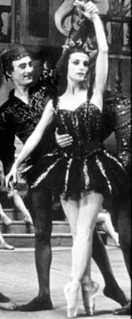 Tamara Toumanova et Roger Ritz. Diamant Noir. Photo Serge Lido.