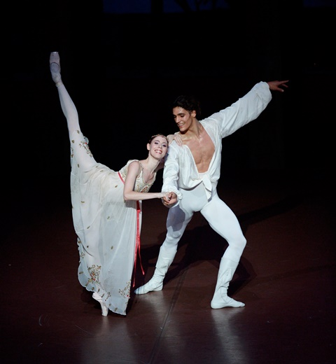 Elisa Badenes et Daniel Camargo ©Stuttgart Ballet