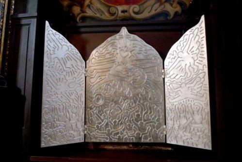 Keith Haring et Glass Pieces. Tryptique. Pourquoi pas...