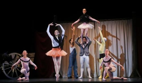 Les Forains, ballet du Capitole de Toulouse. Photographie Francette Levieux. Courtesy of Théâtre du Capitole.