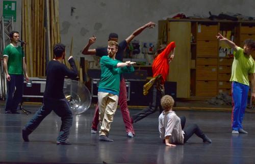 Study #3  - photo Umberto Favretto (courtesy Théâtre de Chaillot)