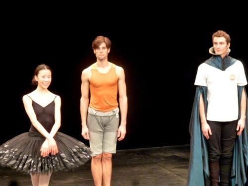 Sae Eun Park, Yannick Bittencourt et Jereny-Loup Quer