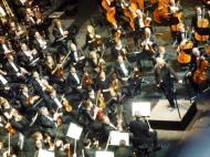 L'orchestre du Brussels Philarmonic sous la direction de Michel Tabachnik.