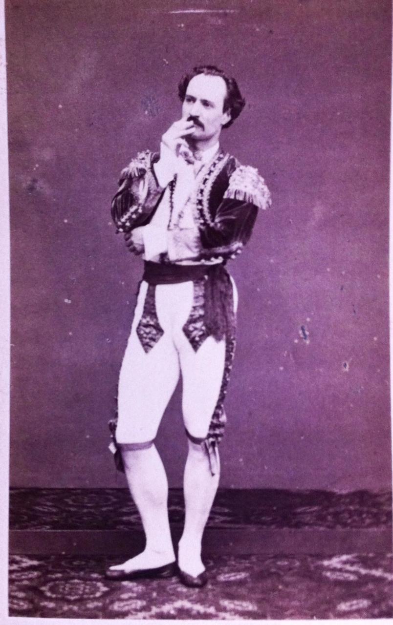 Hippolyte Mazilier Carte Visite Ddicace De 1867 Le Danseur Aurait Il Reconnu
