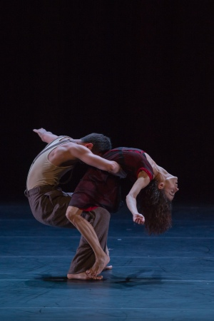 """Cantata"". Maksat Sydykov et Maria Gutierrez. Photographie : David Herrero"