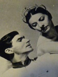 Igor Youskevitch et Alicia Alonso. Créateurs de Thème et variations en 1947