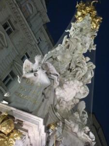 Vienne. Colonne de la Peste. 1693