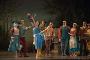 Giselle, acte 1. Maria Gutierrez (Giselle) crédit David Herrero