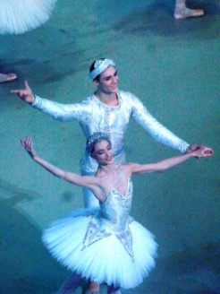 Dorothée Gilbert et Hugo Marchand