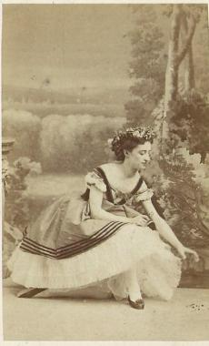Martha Murawiewa. Paris,1863