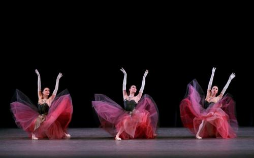 New York City Ballet in George Balanchine's La Valse. Photo credit Paul Kolnik