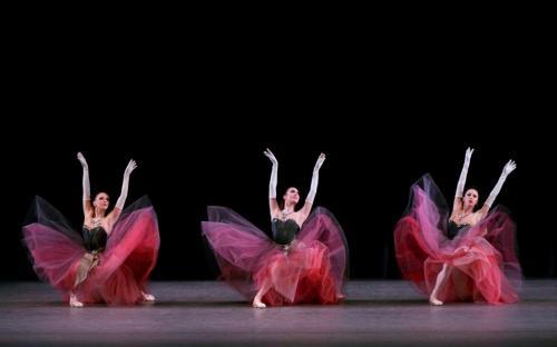 New York City Ballet in George Balanchine's La Valse. Photo credit Paul Kolnik