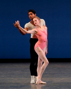 Sterling Hyltin and Amar Ramasar in George Balanchine's Symphony in Three Movements
