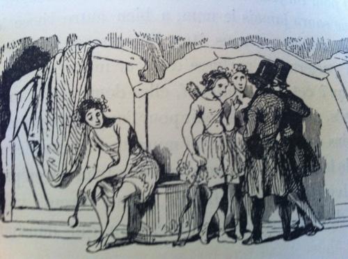 Un Hiver à Paris. Jules Janin, 1843. Vignette
