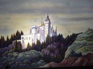 Rideau d'intermède d'après Léon Bakst