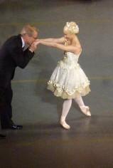 Sarah Lane et le chef David LaMarche