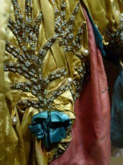 Costume de Pavlova pour la Belle au bois dormant. Détail (1916)