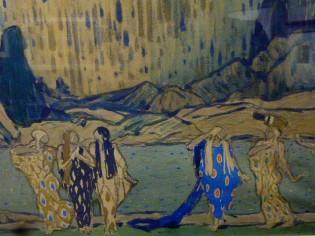Esquisse pour L'après midi d'un faune (1913)
