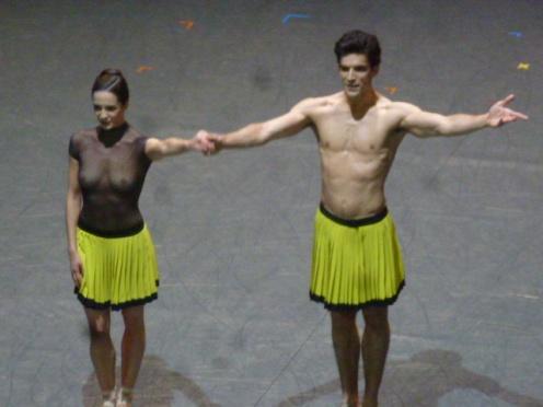 Amandine Albisson et Audric Bezard