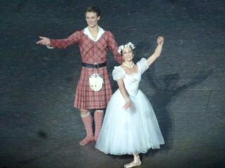 Hugo Marchand et Amandine Albisson (James et la Sylphide le 7 juillet)