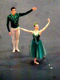 Myriam Ould-Braham (la Sicilienne) et Audric Bezard
