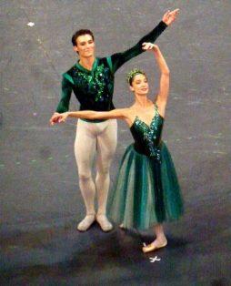 Dorothée Gilbert (la Fileuse) et Hugo Marchand