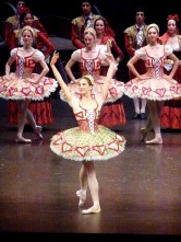Valentine Colasante, danseuse de rue.