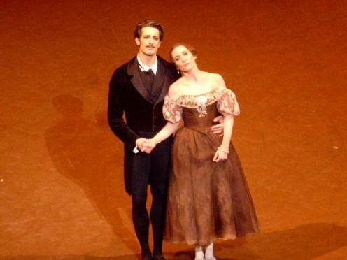 Mathieu Ganio et Ludmila Pagliero (Onéguine et Tatiana)