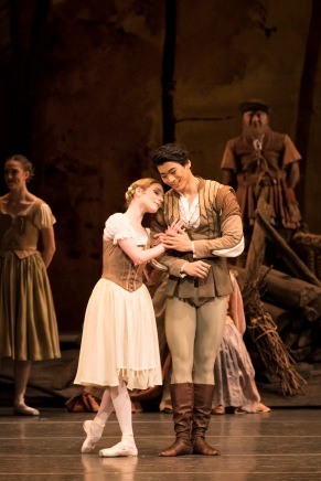 Sarah Lamb et Ryoichi Hirano - Photo Helen Maybanks courtesy of ROH