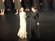 Muriel Zusperreguy (Amour) et la soprano Chiara Skerath