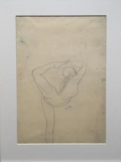 Mouvement de danse le pied derrière la tête. 1903-1905