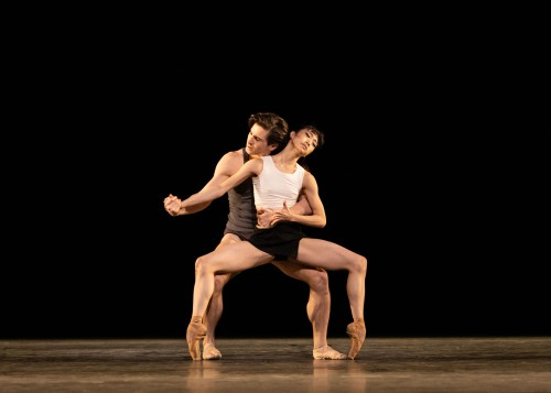 Infra. Tristan Dyer and Akane Takada. Photo Helen Maybanks, courtesy of ROH