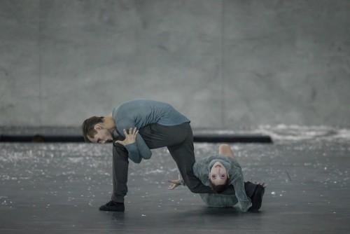 Ballett Zürich - Dominik Slavkovsky et Alba Sempere Torres - © Gregory Batardon