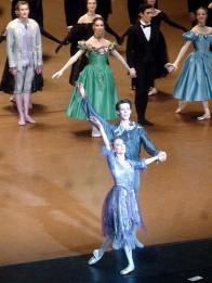 Ludmila Pagliero (Manon) et Germain Louvet (Des Grieux)