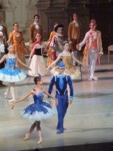 Olga Mikhaliova et Kirill Vychuzhanin (Princesse Florine et Oiseau bleu)