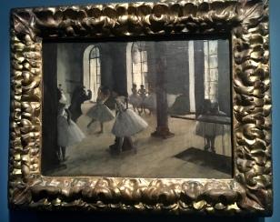 La répétition au foyer de la danse (1873-1875). Washington. The Phillips Collection.